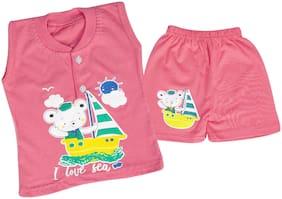 LA SMITH Baby boy Top & bottom set - Pink