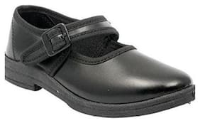 Lakhani Touch Black School shoes For Girls
