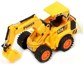 latest radhe New Wireless Remote Control Rechargeable Truck Excavator For Kids