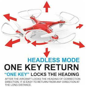 latest radhe LH-X10 Remote Controlled 6 Axis 2.4 Ghz Quadcopter With Built-In Gyro