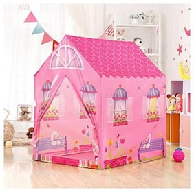 LATEST RADHE Jumbo Size Extremely Light Weight , Water and Fire Proof Doll House Tent for Kids
