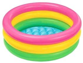 latest radhe Intex WaterInflatable Tub Pools 2ft Diameter. Heavy Duty PVC Construction.