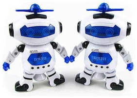 latest radhe  Multicolour Robots - Pack of 2