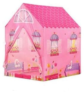 latest radhe Kids Play Tent Barbie House,Indoor/Outdoor Water Repellent Folds Kids Tents,Flame-resistant Playhouse Toy