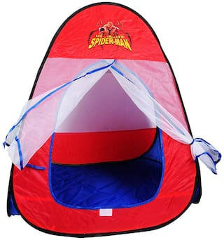 latest radhe Spider-Man Play Tent - 100% Safe Polyester Fabric