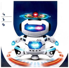 latest radhe New White Musical Robot Toy
