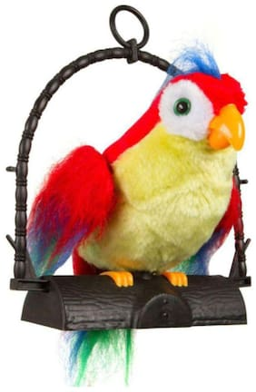 latest radhe Talking Parrot Musical Toy Talk Parrot