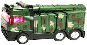 latest radhe Die-Cast Metal Military Tank Pull Back with Light and Music for Boys and Girls