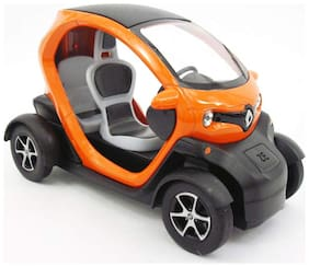 latest radhe 5 inch Die-Cast 4 Wheel Drive Metal Car with Pull Back Action, Great Gift for Boys and Girls Above 4 Years, Multicolor ( Twizy )