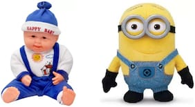 Laughing Baby & Minion Pack of 2