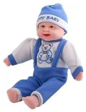 Kanchan Toys laughing baby (Blue)