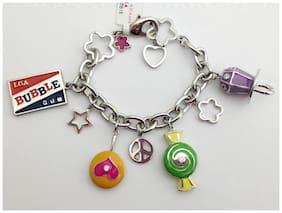 "Lauren G Adams Candy Charm Bracelet For Girls, 6"" BB-54101, New"