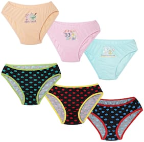 Leading Lady Panty & bloomer for Girls - Multi , Set of 6