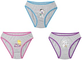 Leading Lady Panty & bloomer for Girls - Multi , Set of 3