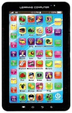 LEARNING TABLET TOY  (Multicolor) (pack of 1 )