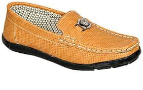 SIM STYLE Tan Boys Casual shoes