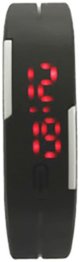 Lecozt Black Digital Watch
