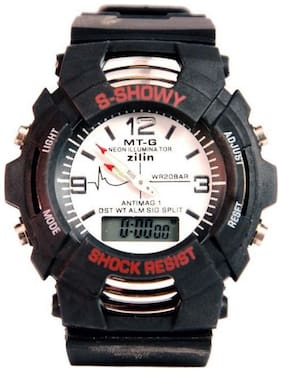 multifunctional watch for kids shock white