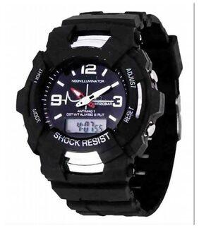multifunctional watch for kids shock black