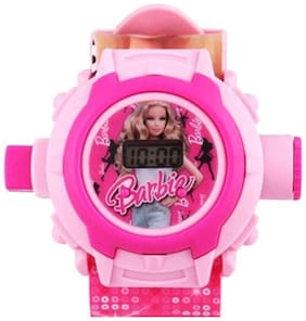LECOZT PINK BARBIE PROJECTOR WATCH FOR KIDS - 24 PHOTOS