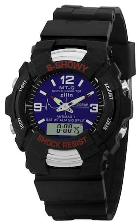 Lecozt shock blue Multi-function luminous watch for boys