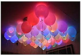 LED Balloons for Party Festival Celebrations (Set of 25)