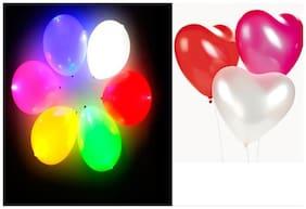 LED light balloons combo