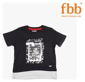Lee Cooper Graphic Print Layered Boys T-Shirt