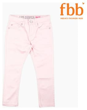 Lee Cooper Over Dyed Mid Rise Girls Jeans
