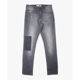 Lee Cooper Boy Solid Jeans - Grey