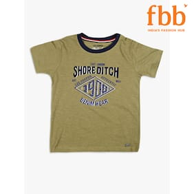 Lee Cooper Typography Print Boys T-Shirt