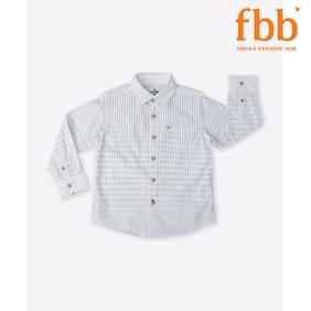 Lee Cooper Yarn Dyed Stripes Boys Shirt