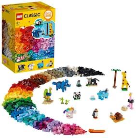 LEGO Classic Creator Fun 11011 Bricks and Animals (1500 pcs)