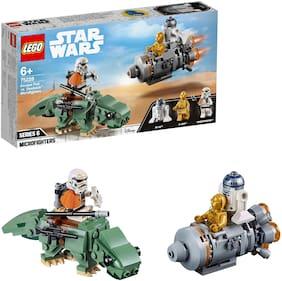 LEGO Escape Pod vs. DewbackTM Microfighters