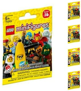 LEGO Minifigures Lot of 5 or Singles Blind Bags Many Series