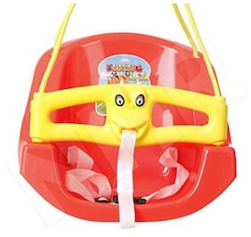 Lehar Baby n Toddler Swing (Red)
