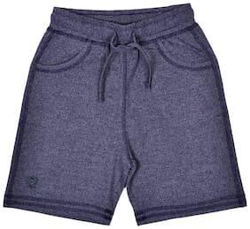 li'l tomatoes Cotton Solid Shorts Boy (Blue)