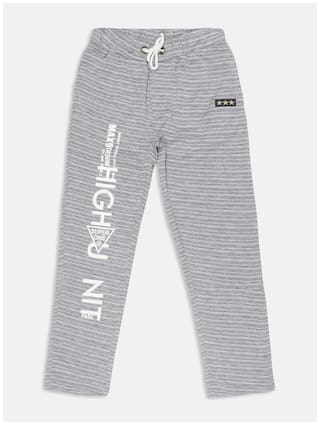 Li'l Tomatoes Boys Track Pant With FREE 3-Ply Face Mask Grey