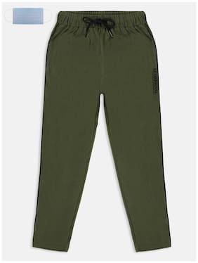 Li'l Tomatoes Boy Cotton Track pants - Green