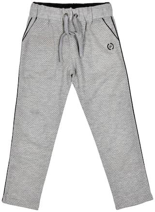 Li'l Tomatoes Baby boy Cotton blend Solid Pyjama - Grey
