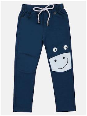 Li'l Tomatoes Baby boy Cotton Printed Pyjama - Blue