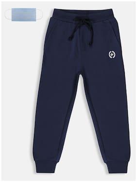 Li'l Tomatoes Boy Cotton Track pants - Blue