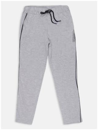 Li'l Tomatoes Boy Cotton Track pants - Grey