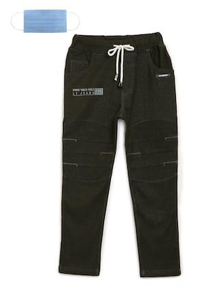 Li'l Tomatoes Boy Knitted Track pants - Green