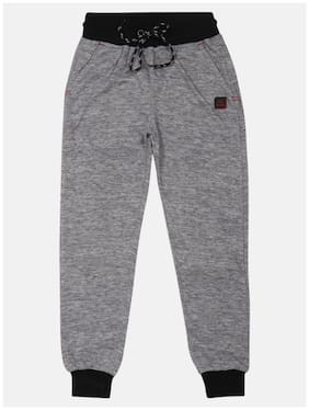 Li'l Tomatoes Boy Cotton Track pants - Grey