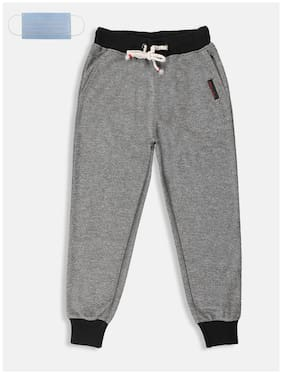 Li'l Tomatoes Boy Polyester Track pants - Grey