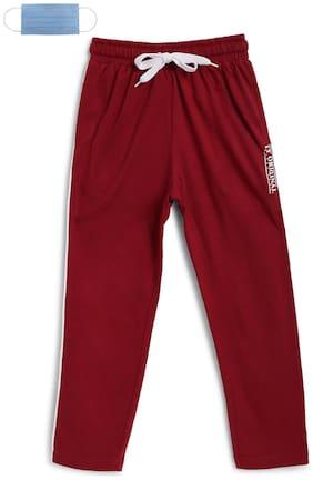 Li'l Tomatoes Boy Cotton Track pants - Red