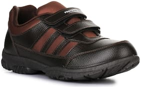 Liberty Brown School Shoes for boys