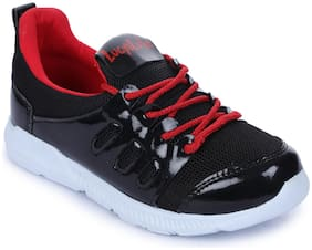 Liberty Black Boys Sport shoes