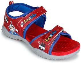 Liberty (Lucy & Luke ) 8074-206_RED Sandals For Unisex